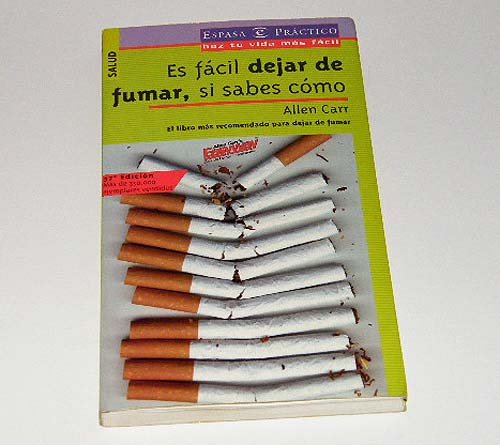 Libro Es fácil dejar de fumar, si sabes cómo del escritor Allen Carr