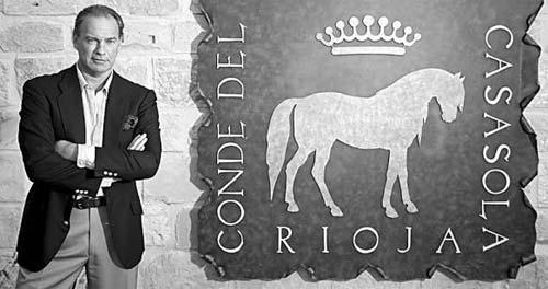 Bertín Osborne, cantante y dueño de las Bodegas Conde del Casasola