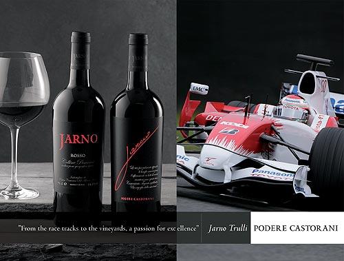Podere Castorani, el vino de Jarno Trulli