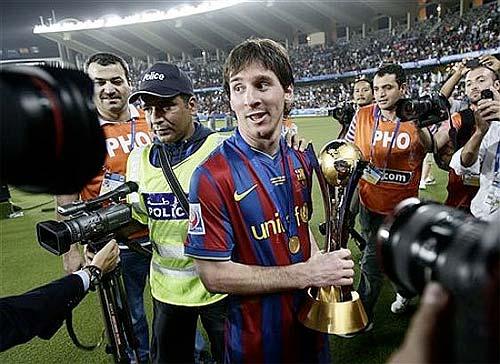 Foto: El País - Lionel Messi, el mejor jugador del mundo 2009