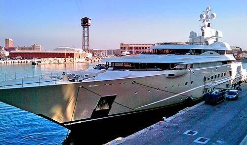 Pelorus, yate de lujo propiedad del millonario Roman Abramovich