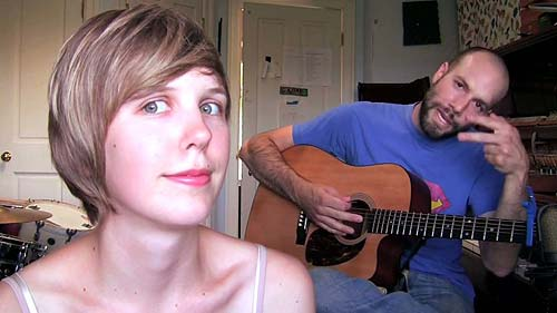 Pomplamoose, grupo musical formado por Nataly Dawn y Jack Conte