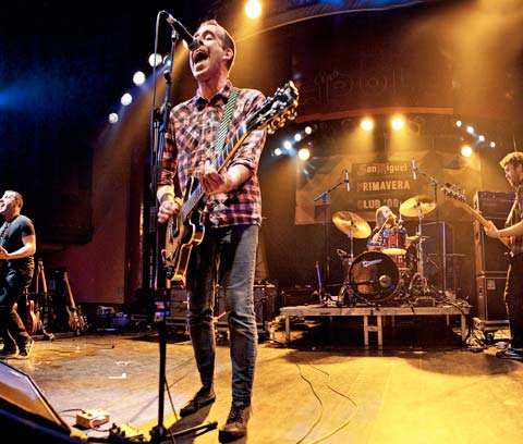 Ted Leo and the Pharmacists en el Primavera Club 2009 - Foto: Indiespot