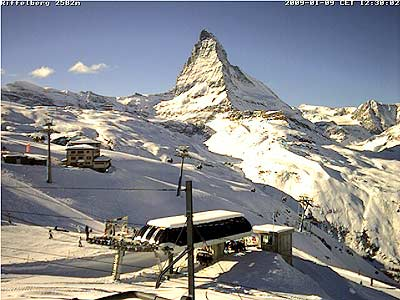 Pico Matterhorn, en Zermatt, Suiza