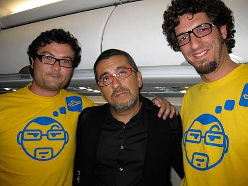 El Lobo Estepario, Andreu Buenafuente y Rulramirez