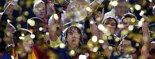 Foto: El País - F.C. Barcelona Campeón de Europa 2009