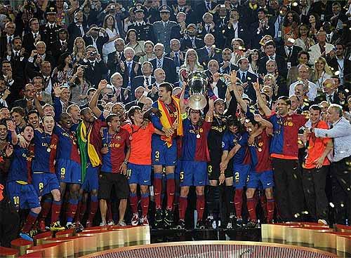 Foto: El País - F.C. Barcelona - Campeón de Europa 2009