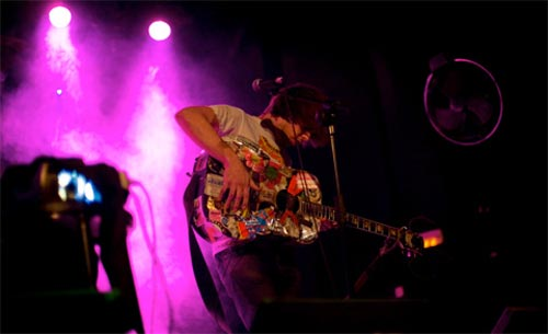 Jeffrey Lewis and the Junkyards en el Primavera Club 2009 - Foto: Indiespot