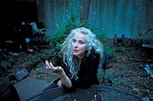 Kiki Smith, artista. Retrato de Nan Goldin's.