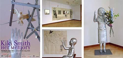 Exposición Her Memory de Kiki Smith en la Fundació Joan Miró de Barcelona