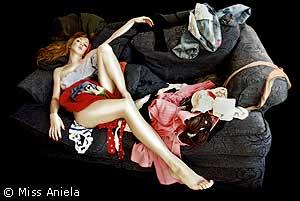 Miss Aniela, fotografia de autoretratos eróticos